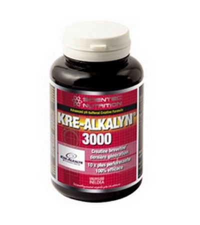 Scientec Nutrition Kre-alkalyn 3000 - 90 Gélules