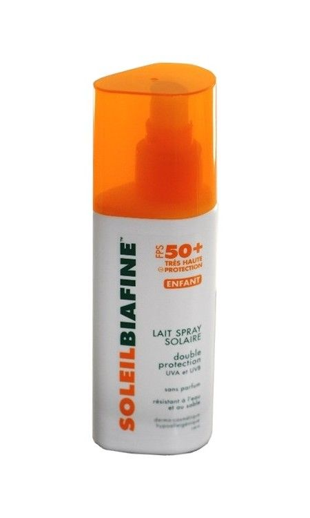 Soleilbiafine Haute Protection Fps 50 +spray Enfant 125ml