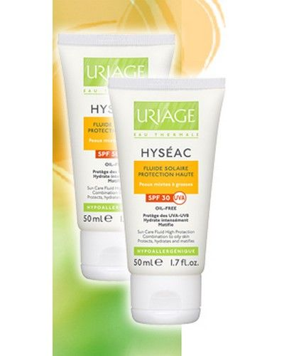 Uriage Hyseac Fluide Solaire Spf 30 50ml