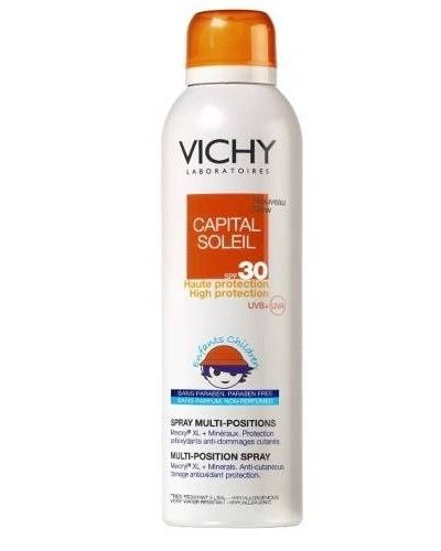 Vichy Capital Soleil Enfant Spray Multi Positions 200ml